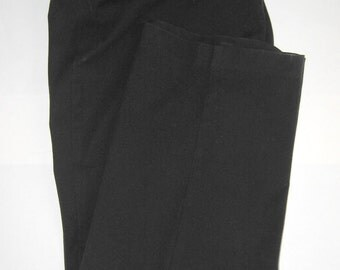 Pants 14 Jones Wear Sport Stretch Black Cotton 33/34