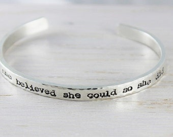message jewelry • cuff bracelet