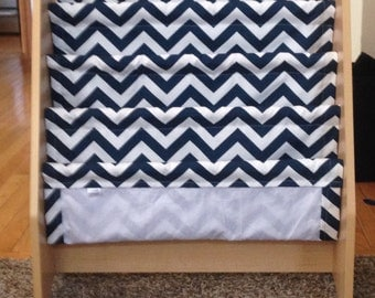 Replacement Book sling for kidcraft book storage systems kid craft chevron new fabric