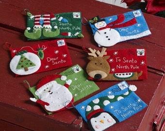Letters to Santa Bucilla Christmas Tree Decoration
