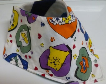Adult Big Kids Bandana Bib Special Needs Drool Bib Scarf