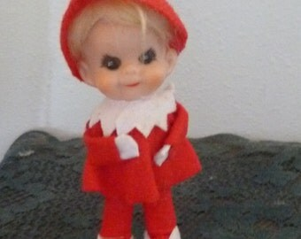 Vintage Christmas Pixie Elf