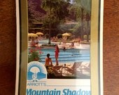 Scottsdale Mountain Shadows Resort Playing Cards