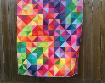 Fabric ONLY - Postcard From Sweden Quilt Kit fabric bundle