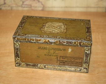 Alles and Fisher's Cigar Tin - item #1601