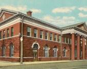 Pennsylvania Station RICHMOND Indiana Unused Vintage Postcard