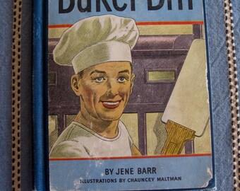 BAKER BILL Hardcover Book 1952  School Reader Albert Whitman and Co. Publishing Jene BARR