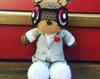 Crochet Heartbreak Yeezy Bear