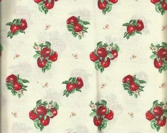 "Cranston Apple Print Fabric     22"""