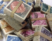 SALE 19 ITALY Stamps collection - Cute vintage Italian Stamp Set