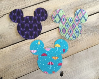 Trendy Mickey Mouse Inspired Iron On Applique