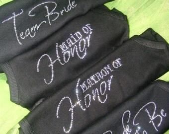 6 bridesmaid Tank Tops. Wedding Party Shirts. Bride To Be Tank Top. Maid of Honor Tank Top. Bachelorette party Tank Tops. Bridesmaid Shirts.