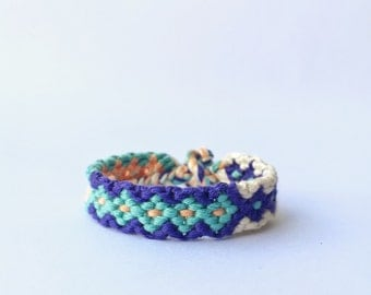 thick friendship bracelet