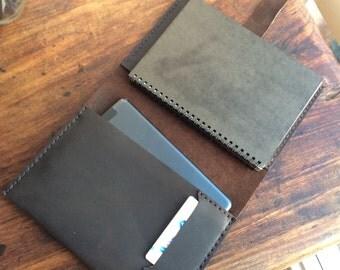 Arlington Folio, iPad mini leather padfolio, A5 leather journal,  iPad mini portfolio case, handmade leather iPad cases, and folios by Aixa