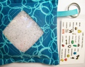 I Spy Bag Bubbles Neutral themed contents girls boys, eye spy, busy bag, seek and find game, party favor, sensory occupational therapy
