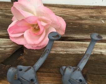 Wall Hook/ Wall Hanger/ Wall Decor/ Jacket Hook/ Distressed Hook/ Shabby Chic/ Cottage Chic