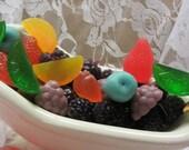 fruit & berries soap/ glycerin soap/ embed soaps/ handmade soap