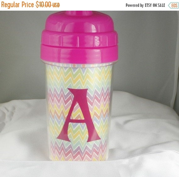 SALE Personalize Sippy Cup Large 10 ounce