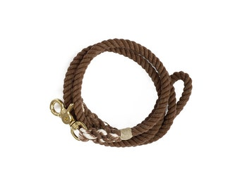 SALE Dog Leash, Wood