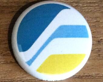 """1"""" Button - Feisar Logo"""