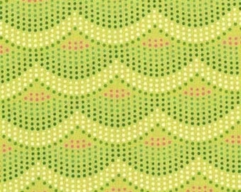 SALE Crib Sheet - Mermaid Scales Lime - Fitted Crib Sheet