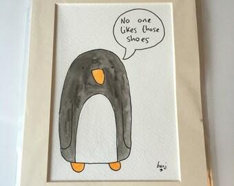Crappy opinion penguin