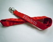 Custom Listing for isign31 - Personalized Lanyard with double sided embroidery