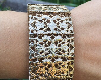 Vintage Sarah Coventry Cuff Bracelet