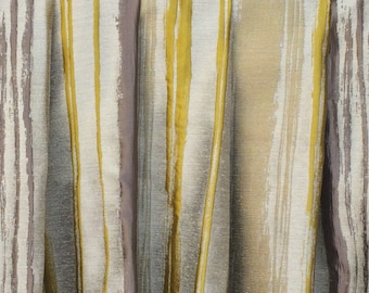 Chartreuse curtains – Etsy