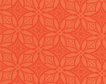 High Street by Lily Ashbury - Lacey in Clementine (11477-14) - 1 Yard