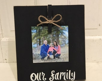 Our Family photo board