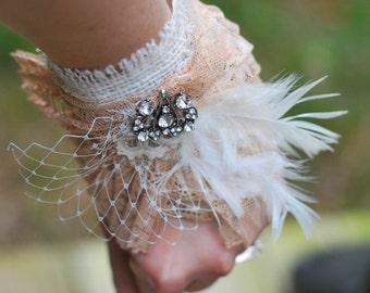 Fabric Wedding Cuff