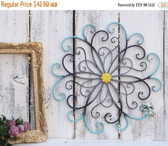 Metal Wall Decor For Bedroom : On sale large metal wall art bedroom by