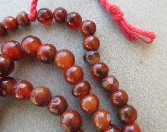 African Carnelian Beads