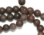 MOVING SALE Purple Aventurine Beads - 6mm Round - Full Strand