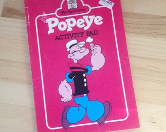 Popeye activity pad