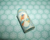 Rare Vintage 1980s Kutsuwa Beautiful Sunday Blue Crayon eraser rubber gomme gommine
