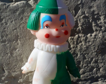 Vintage squeaky clown