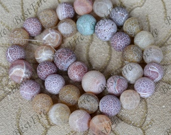 37beads Charm Weathered Agate stone Beads ,agate round stone beads loose strands,beads stone agate