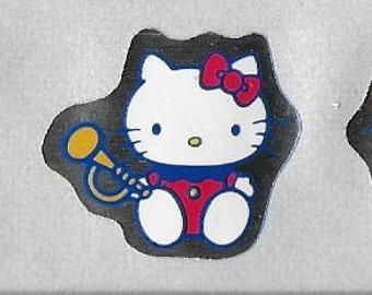Vintage Original Unused 1980's Sanrio Hello Kitty Stickers - Set Of Three