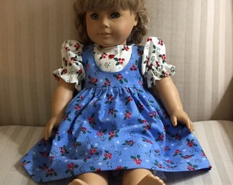 AG 18 in doll Christmas dress