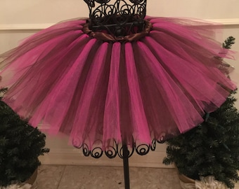 Hot Pink and Brown Tutu