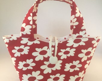 "Baby doll diaper bag ""Mommy & Me Set"" - Posey in Red"