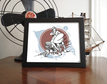 US Navy SeeBee Matte Print (unframed) 8x10
