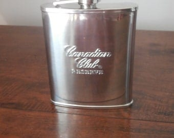 Canadian Club Hip Flask