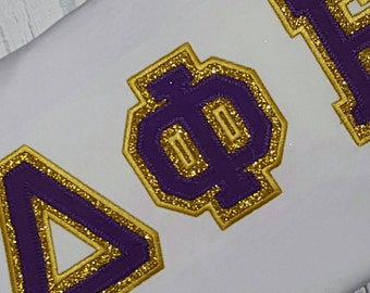 Items similar to Custom Greek Letter Sorority Applique Shirt Greek