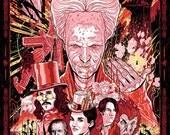 """Bram Stoker's Dracula 24x36"""" screen print"""