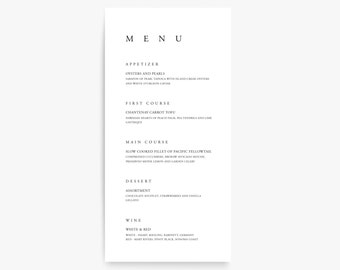 Wedding Menu Template, Printable Menu, Menu Cards, Menu Template, Printable Menu, Wedding Menu Design, Bar Menu, Menu Printable, Menu Card
