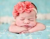 Vintage headband, Baby headband, newborn headband, trim headband, adult headband, and photo prop Sweetheart headband