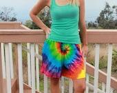 Tie Dye Shorts Unisex sizes S through 3XL